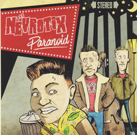 Nevrotix – Paranoid (CD, New)