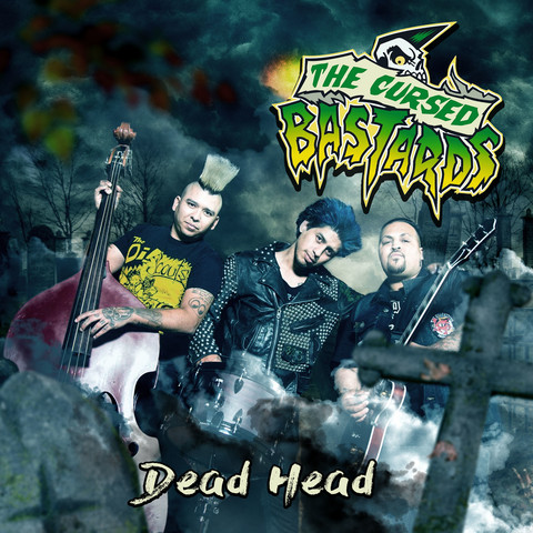 Cursed Bastards – Dead Head (CD, uusi)