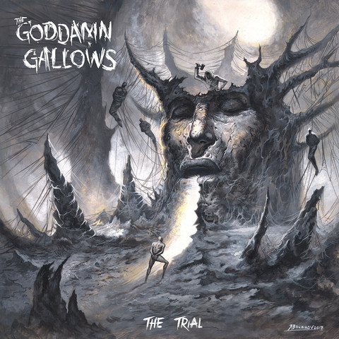 oddamn Gallows – The Trial (CD, New)