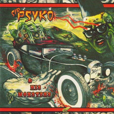 Sir Psyko & His Monsters – Zombie Rock (Vinyl LP, new)