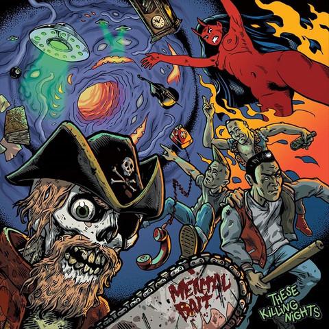 Mentalbait – These Killing Nights LP (Vinyl LP, new)