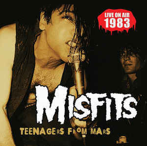 Misfits - Teenagers From Mars (CD, Uusi)