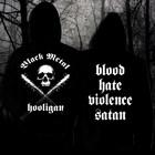 Black Metal Hooligan (hoodie with zipper)