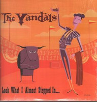 The Vandals - Look What I Almost Stepped In... (CD, Käytetty)