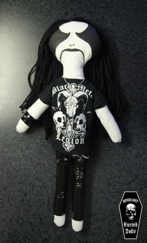 Black Metal Ragdoll