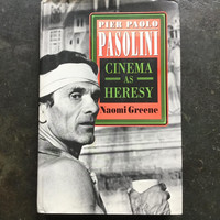 Pier Paolo Pasolini: Cinema as Heresy (used)