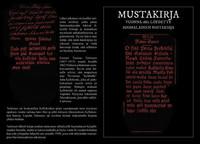 Mustakirja - Vuonna 1862 löydetty suomalainen noitakirja (uusi)