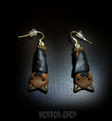 Bat earrrings