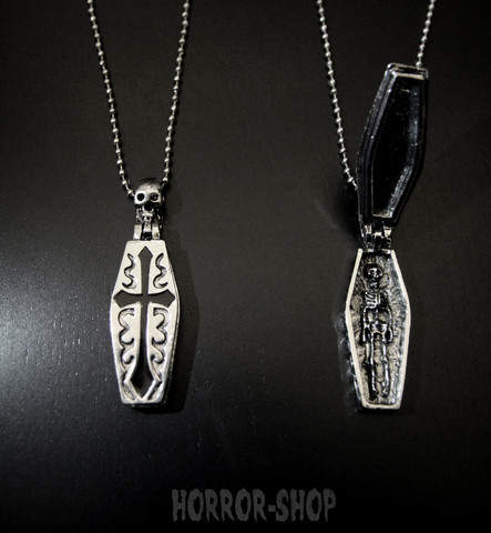 Voodoo coffin neclace