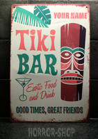 Tiki bar good time, peltikyltti