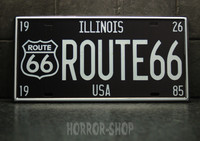 Illinois registeation plate, tin sign