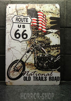 Old trail - route 66, peltikyltti