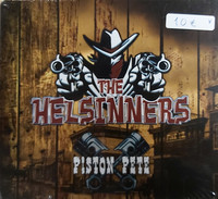 The Helsinners - Piston Pete (CD, new)