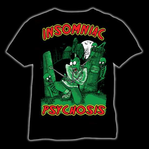 Insomniac Psychosi, t-shirt and ladyfit