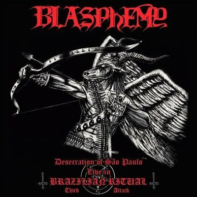Blasphemy - Desecration of São Paulo - Live in Brazilian Ritual - Third Attack (CD, new)