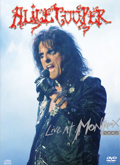 Alice Cooper - Live At Montreux 2005 (CD + DVD, used)