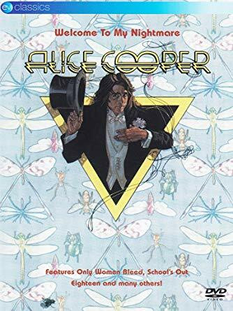 Alice Cooper - Welcome To My Nightmare (DVD, käytetty)