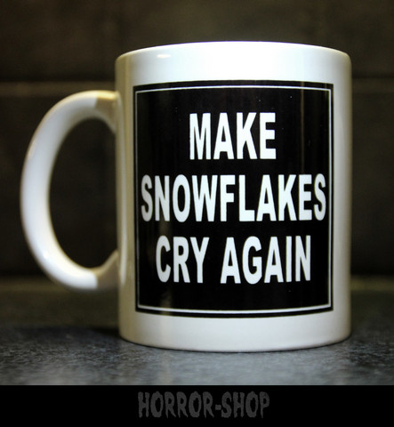 Make Snowflakes Cry Again (mug)