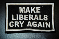 Make liberals cry again kangasmerkki