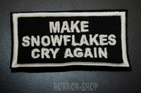 Make snowflakes cry again patch