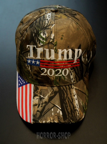 Keep America Great 2020, camo cap
