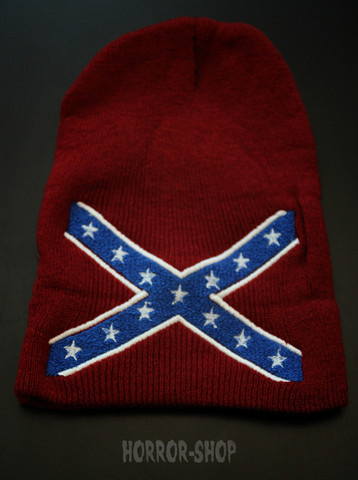 Confederation beanie, red