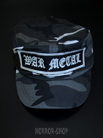 War Metal  -army cap