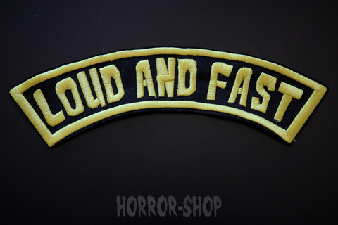 Loud and fast, arch patch (big one)