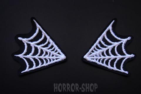 Spider web collars