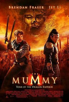 The Mummy - Tomb Of The Dragon Emperor ( DVD käytetty)
