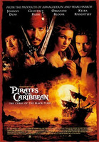 Pirates of the Caribbean - The Curse Of The Black Pearl ( DVD Käytetty)