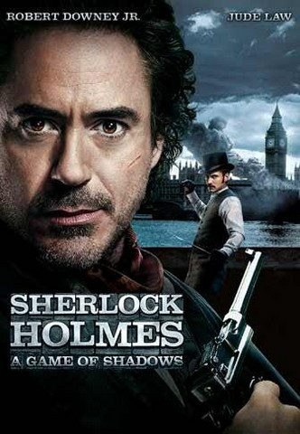 Sherlock Holmes: A Game of Shadows (DVD Used)