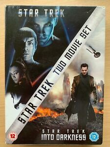 Star Trek Two movie set ( DVD Used)
