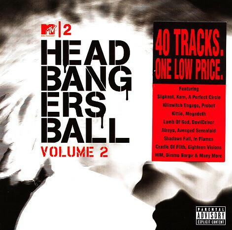 Headbangers Ball Volume 2 (2CD, used)