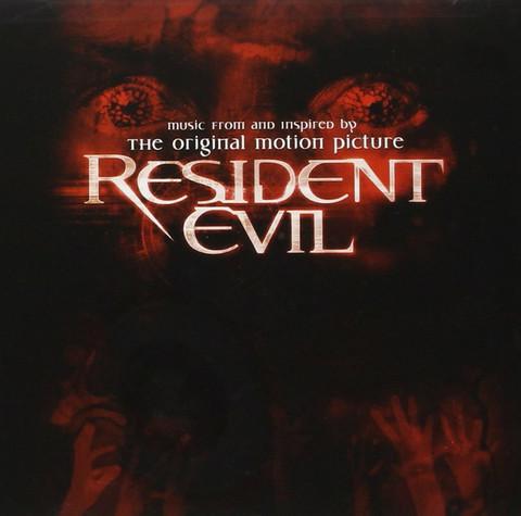 Resident Evil - Soundtrack (CD, used)