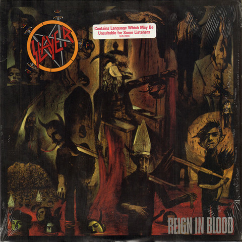Slayer - Reign In Blood (CD, used)