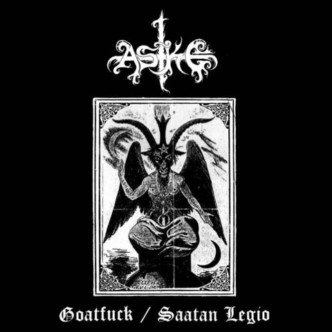 ASKE - Goatfuck / Saatan Legion (LP, new)