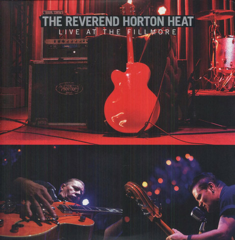 The Reverend Horton Heat - Live At The Fillmore (CD, new)
