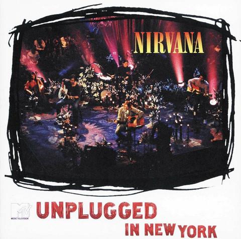 Nirvana  MTV Unplugged in New York ( CD käytetty)