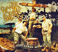 Frantic Flintstones - Psycho Samba My Way (CD, käytetty)