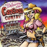 Jeff Walker Und Die Flüffers - Welcome To Carcass Cuntry (CD, used)