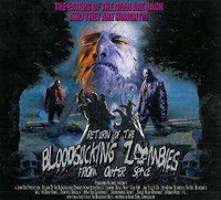 Return Of The Bloodsucking Zombies From Outer Space (CD, käytetty)