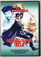 Pääkallolipun alla (DVD kätetty)