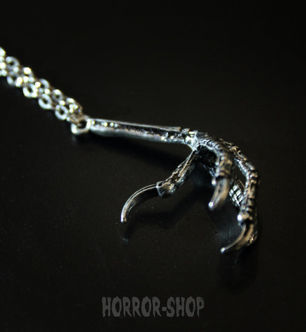 Crows claw necklace