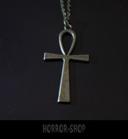 ANKH, metal colour necklace