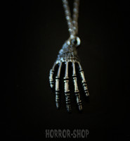 Curced hand Necklace
