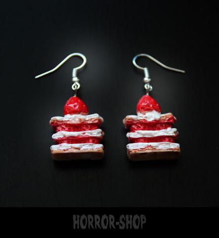 Cream Cake earrings