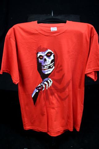 Misfits, punainen T-paita, L