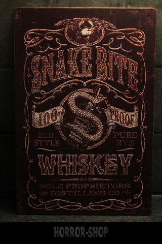 Snake Bite Whiskey -sign