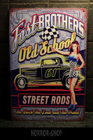 Fast brothers old school -sign